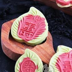清爽养眼美味的福寿绿豆糕