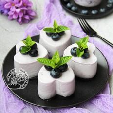蓝莓果酱慕斯的做法