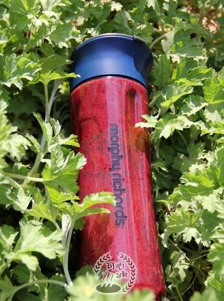 草莓桑葚香蕉综合果泥的做法