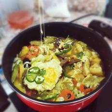 韩国年糕芝士火锅
