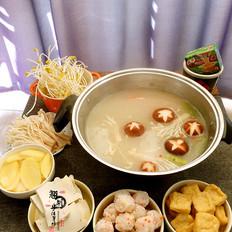 鱼骨菌菇火锅