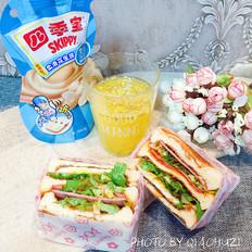 快手早餐——三明治