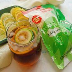 夏日里的柠檬红茶的做法
