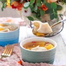 新西兰花胶番薯百合甜汤