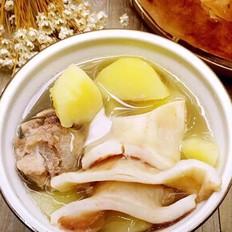 土豆排骨新西兰花胶汤