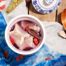 高山紫萝卜排骨新西兰花胶汤