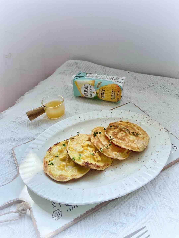 菠萝汁玉米饼