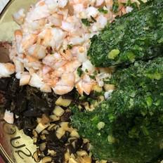 荠菜虾仁肉馄饨