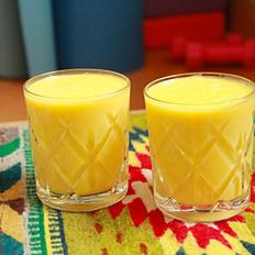 芒果橙汁奶昔的做法