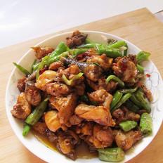 青椒炒鸡块