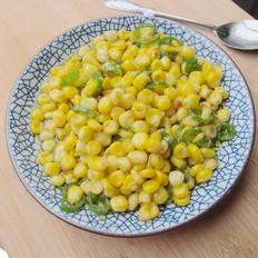 青椒玉米粒