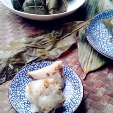 绿豆红枣粽