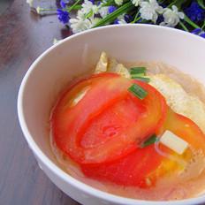 番茄鸡蛋粉丝汤