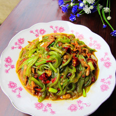 四川鱼香莴笋肉丝