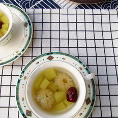 红枣苹果菊花茶