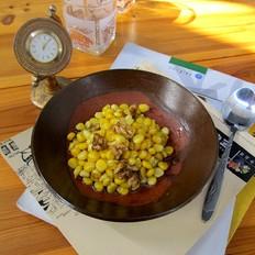 核桃清炒玉米