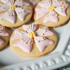 樱花饼干#九阳#的做法