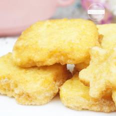 炒鸡简单卡通版香煎馒头片