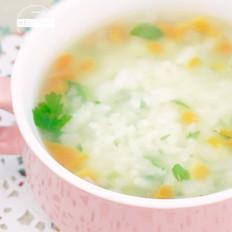 炒鸡简单营养蔬菜粥