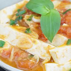 西红柿渍豆腐