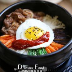 韩式肥牛石锅拌饭