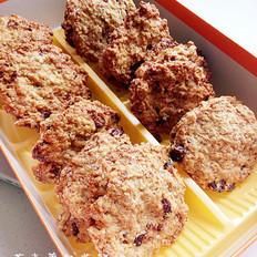 燕麦蔓越莓脆饼