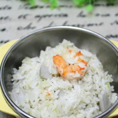 虾仁山药米饭