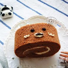 轻松熊蛋糕卷