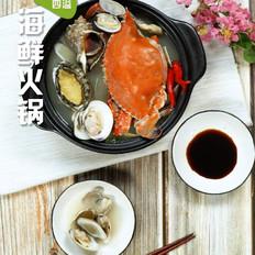 海鮮火鍋的做法