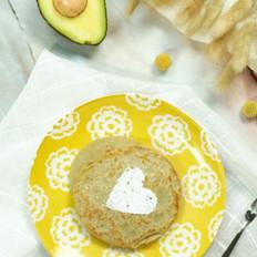 牛油果香松饼