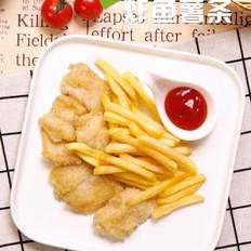 炸鱼薯条的做法大全