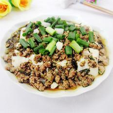 橄菜肉未蒸豆腐