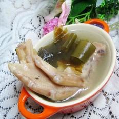 鸭掌海带汤