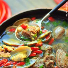 花蛤炖羊肉汤