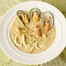 海鲜奶油浓汤