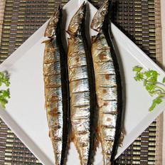 香烤秋刀鱼