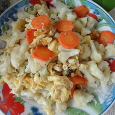 菜花炒鸡蛋