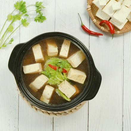 白菜豆腐汤的做法