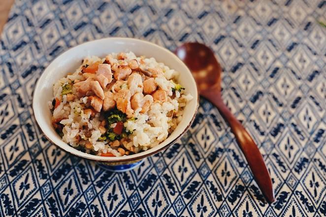 戴军教你三文鱼鸡汤烩饭,好吃到添盘的做法