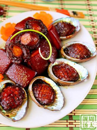 鲍鱼红烧五花肉的做法