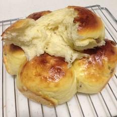 葡萄干拉丝面包