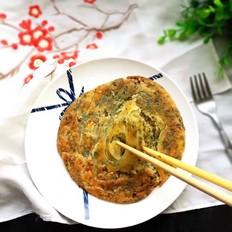 花椒叶千层油饼