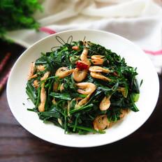 韭菜炒小海虾