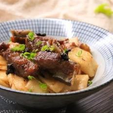 豆豉排骨炒年糕
