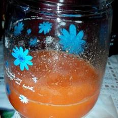 菠萝胡萝卜汁