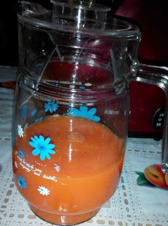 红萝卜橙汁的做法
