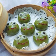 可爱的小青蛙青团