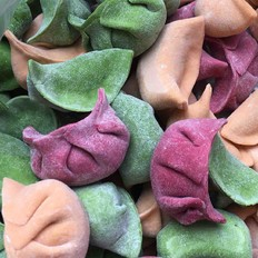 蔬菜汁水餃