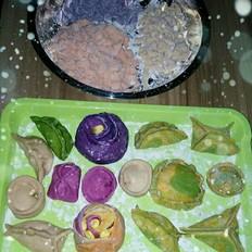纯手工蔬菜饺