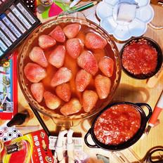 草莓罐头草莓酱